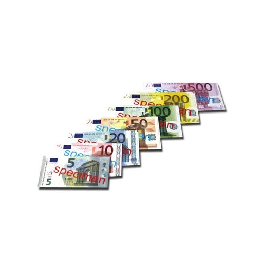 Lot de 40 billets en euros
