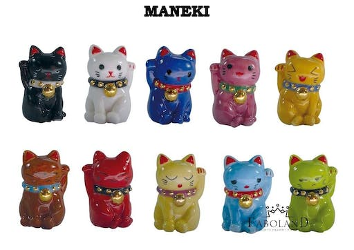 Lot de fèves : Maneki