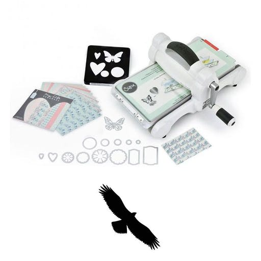 Machine de découpe Big Shot Sizzix + Matrice Aigle