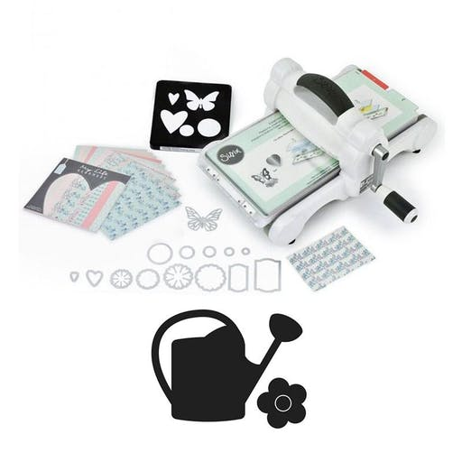 Machine de découpe Big Shot Sizzix + Matrice Arrosoir