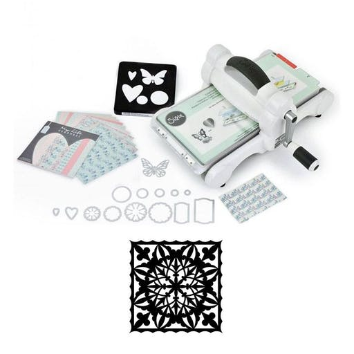 Machine de découpe Big Shot Sizzix + Matrice flocon 14 cm