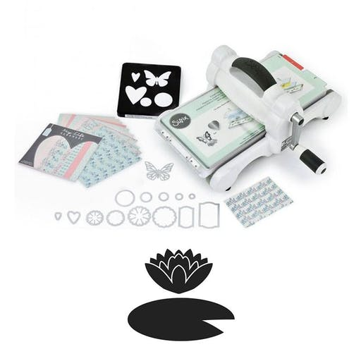 Machine de découpe Big Shot Sizzix + Matrice Nénuphar