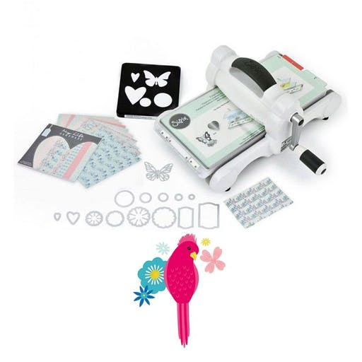 Machine de découpe Big Shot Sizzix + Matrice Oiseau