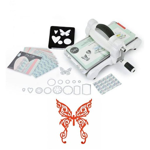 Machine de découpe Big Shot Sizzix + Matrice Papillon