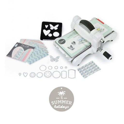 Machine de découpe Big Shot Sizzix + Matrice Summer holidays