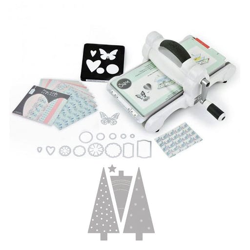 Machine de découpe Big Shot Sizzix - Sapins de Noël