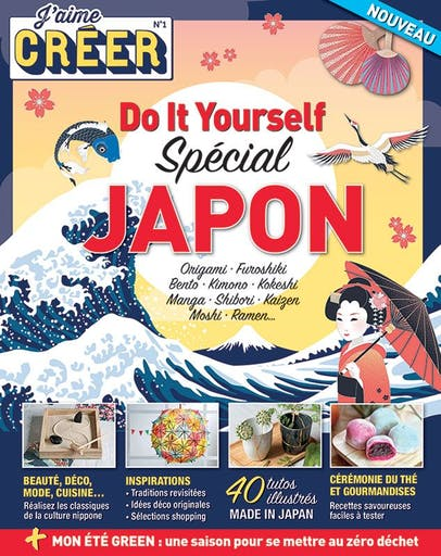 Magazine - J'aime Créer 01 - Do It Yourself spécial JAPON