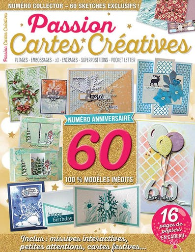 Magazine - Passion Cartes Créatives 60