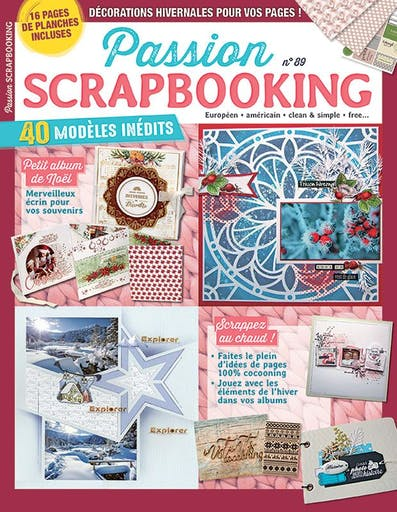 Magazine - Passion Scrapbooking 89