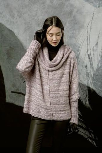 Modèle tricot Pullover ample - FAM 227 014 Lang Yarns