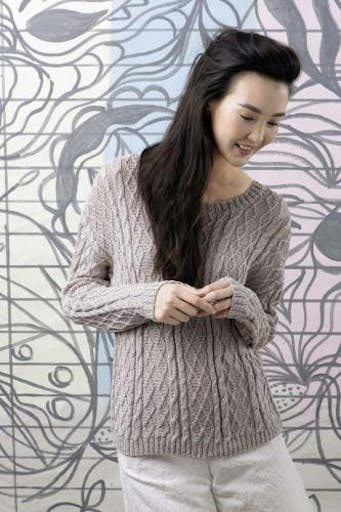 Modèle tricot Pullover - FAM 233 016 Lang Yarns