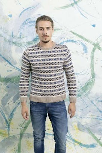 Modèle tricot Pullover - FAM 252 040 Lang Yarns