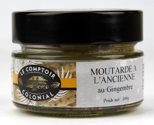 Moutarde à l'ancienne au Gingembre