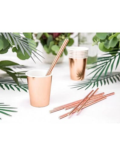 Paille rose gold