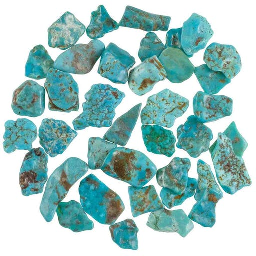 Pierres Roulees Turquoise Sleeping Beauty 15 A 3 Cm 10 Grammes 20