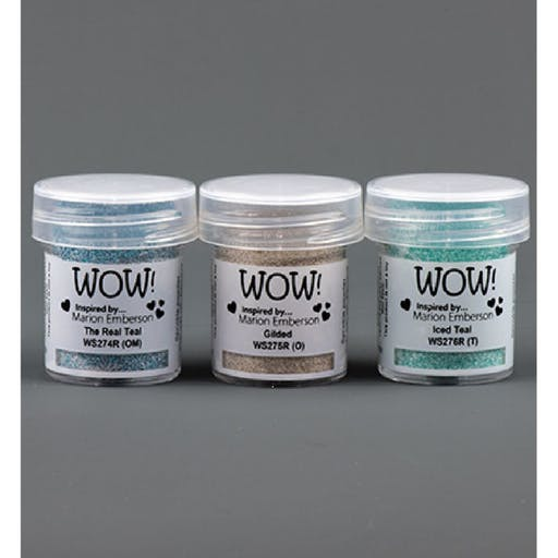 Poudre à embosser Wow Trio Toteally Amazing by Marion Emberson de Wow! (15ml)
