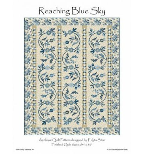 Reaching Blue Sky - Laundry Basket Quilts