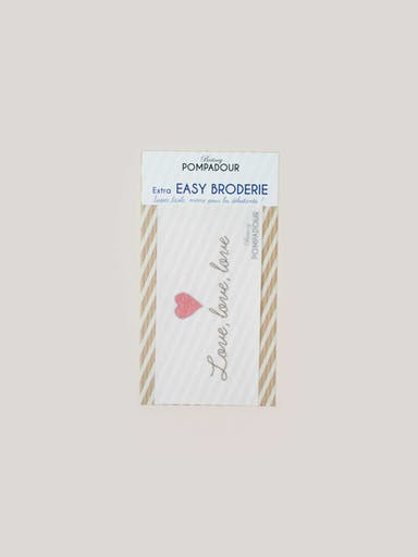 Recharge EASY BRODERIE - Love, love, love