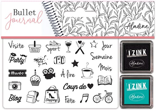 STAMPO BULLET JOURNAL CULTURE LOISIRS