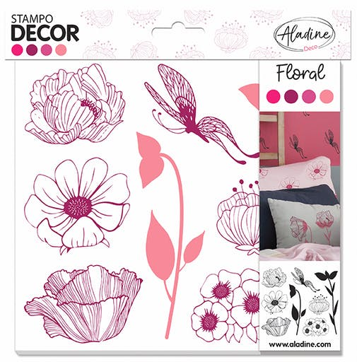 STAMPO DECOR FLORAL