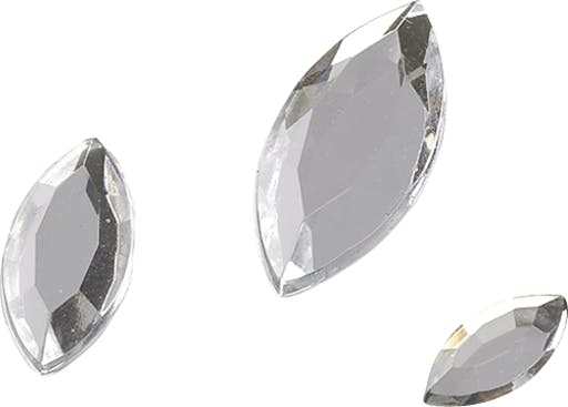 STRASS Pierres Glamour OvP Cristal