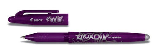STYLO ROLLER FRIXION BALL 0,7 VIOLET