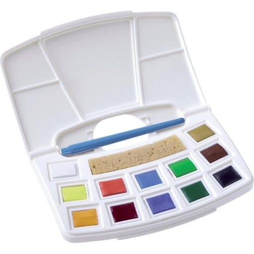 Talens Water colour Pocketbox 12 godets