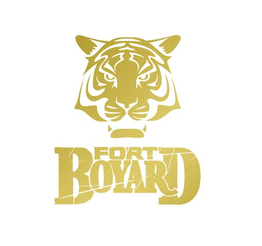 Tigre Fort Boyard Motif Thermocollant