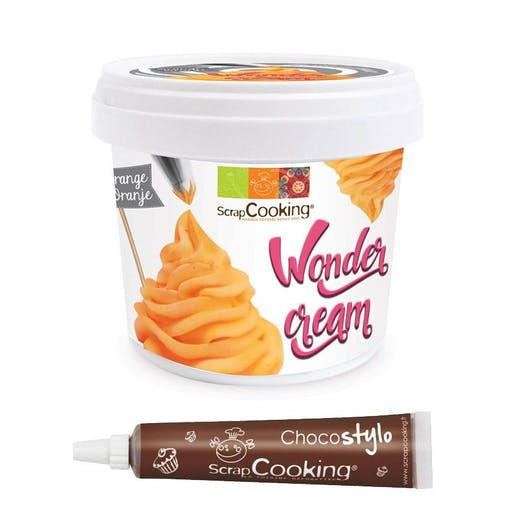Wonder cream orange 150 g + 1 Stylo chocolat offert